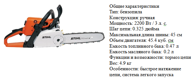 STIHL MS 250 C-BE фото