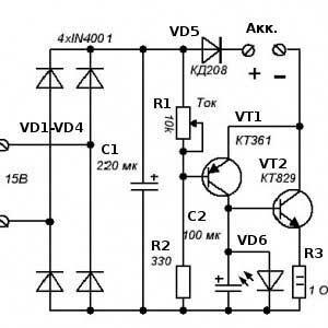 генератора тока с мощным транзистором фото