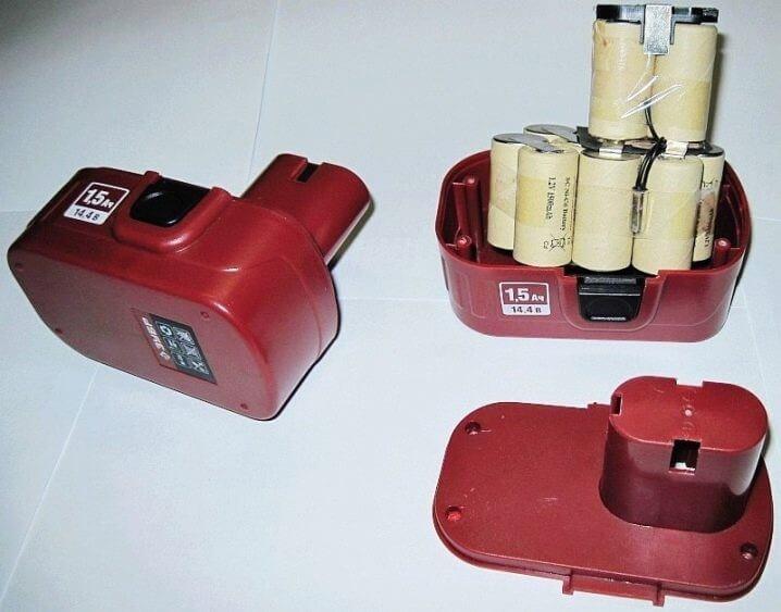 Корпус аккумулятора может быть склеенным, зафиксирован крепежными винтами или саморезами фото