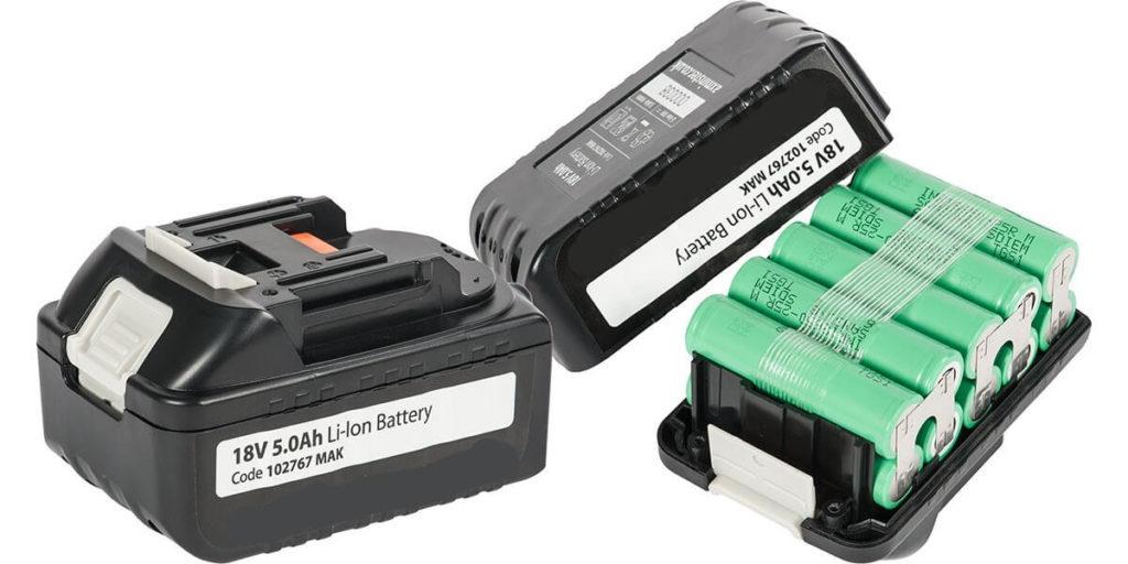 При последовательном соединении батарей номинал напряжения на выходе суммируется фото