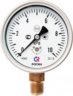 Манометры для измерения низких давлений газов фото