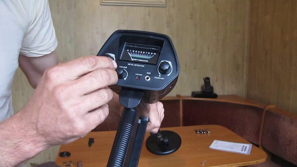 Настройка металлоискателя